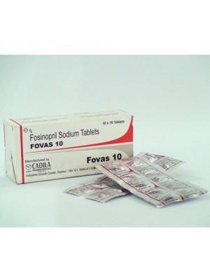 Fosinopril 10 mg. 30 tablets