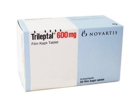 Trileptal 600 mg. 50 tablets