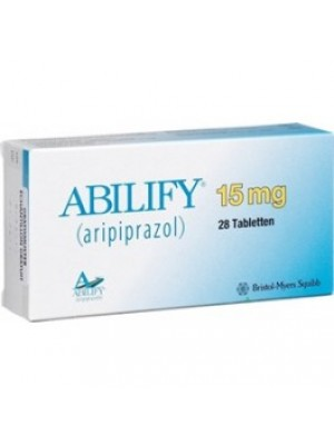 ABILIFY. 15 mg. 28 tablets