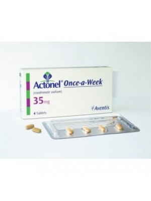 Actonel. 35 mg. 4 tablets