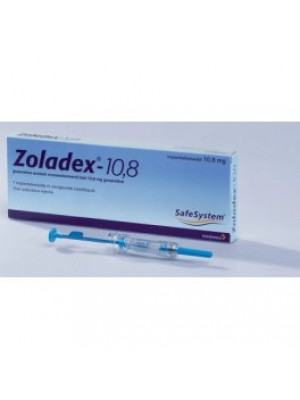 Zoladex depot. 10.8 mg. 1 amp