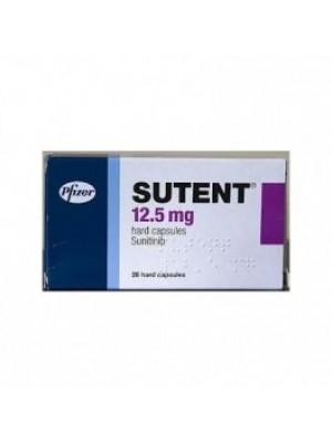 SUTENT. 12.5 mg. 30 capsules