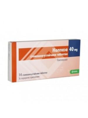NOLPAZA gastro - resistant. 40 mg. 14 tablets