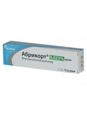 ABRICORT cream 15g