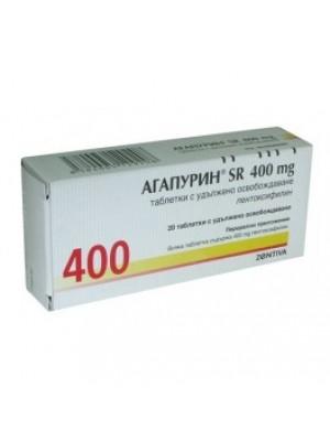 AGAPURIN SR. 400 mg. 20 tablets