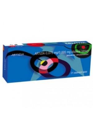 Artizia. 0.075 mg. / 0.020 mg. 21 tablets