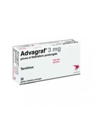 ADVAGRAF 3 mg. 30 capsules