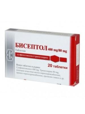 Biseptol 480 mg. 20 tablets