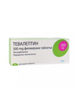 TEVALEPTIN table. 300 mg