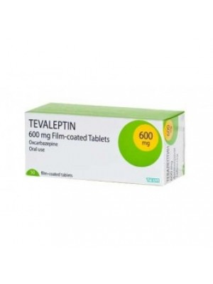 TEVALEPTIN table. 600 mg
