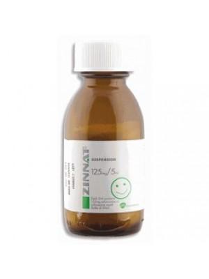 ZINNAT 125 mg. / 5 ml. 50 ml.
