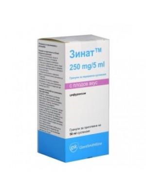 ZINNAT 250 mg. / 5 ml. 50 ml.