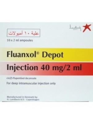 FLUANXOL DEPOT 40mg. / 2 ml. 10 ampoules