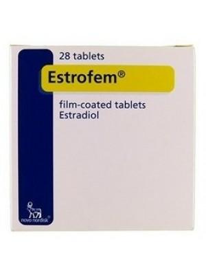 ESTROFEM 2 mg. 28 tablets