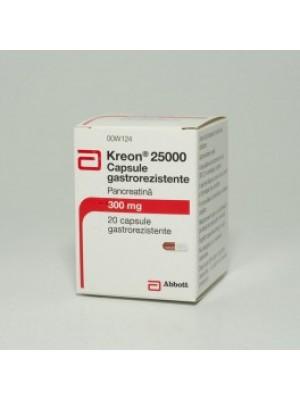 Kreon 25000 E. 20 capsules