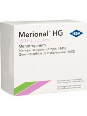 MERIONAL 150 IU. 10 vials