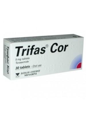 TRIFAS COR 5 mg. 30 tablets