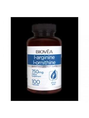 L - Arginine / L - ornithine 100 capsules