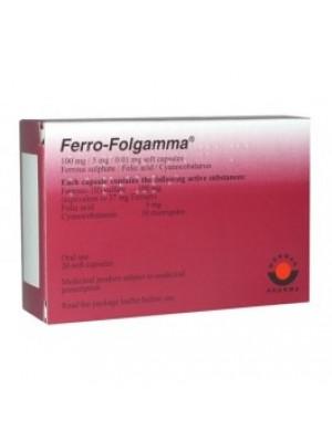 FERRO-FOLGAMMA 20 capsules