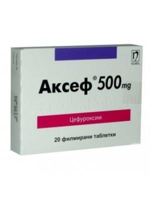 AKSEF . 500 mg. 20 tablets