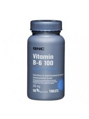 VITAMIN B6 100 mg. 100 capsules