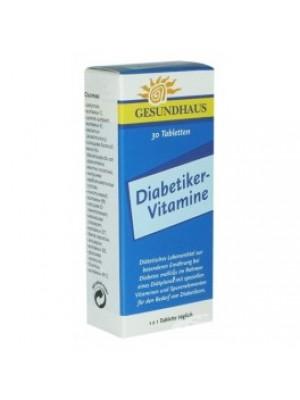 DIABETIKER VITAMINS for diabetics 30 tablets