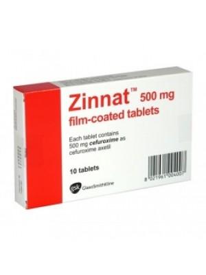 Zinnat . 500 mg. 10 tablets