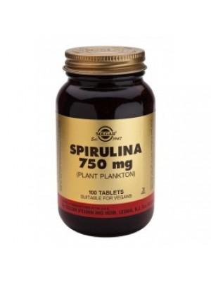 SPIRULINA 750 mg. 100 tablets