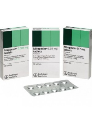 MIRAPEXIN 1 mg. 30 tablets