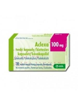 ACLEXA 100 mg. 10 capsules