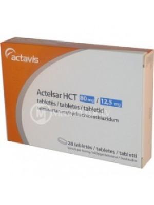 Actelsar HCT 80 mg/12,5 mg. 28 tablets