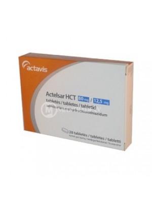 Actelsar HCT 80 mg.25 mg. 28 tablets