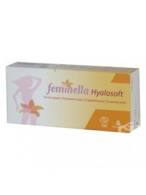 FEMINELLA HYALOSOFT 10 vaginal suppositories