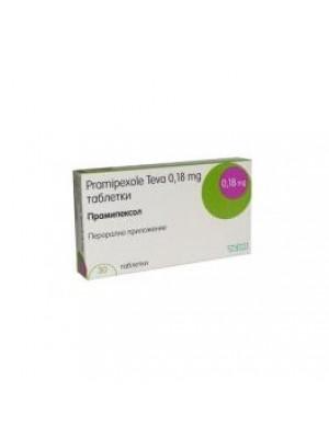 Pramipexole 0.7 mg. / 1 mg. 30 tablets