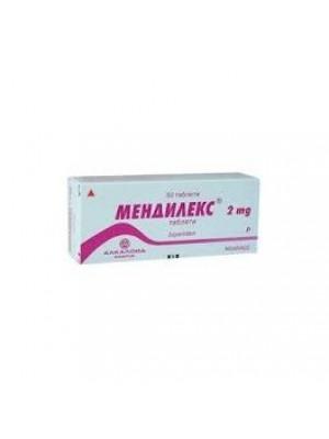 MENDILEX 2 mg. 50 tablets