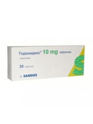 TORAZIDEX 10 mg. 30 tablets