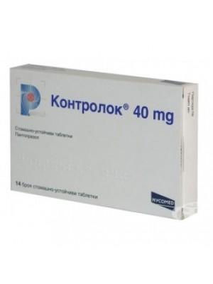 KONTROLOK table. 40 mg. 14 tablets