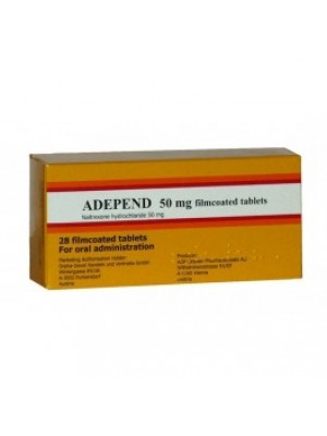 ADEPEND . 50 mg. 28 tablets